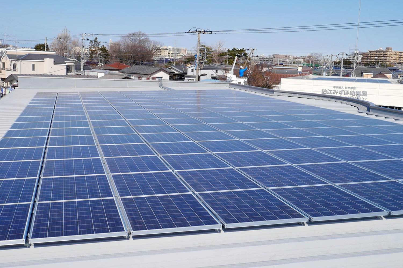 太陽光発電 110KWシステム(ANNEX屋上)